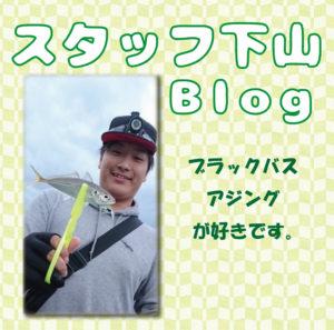 スタッフ下山ブログ釣行記