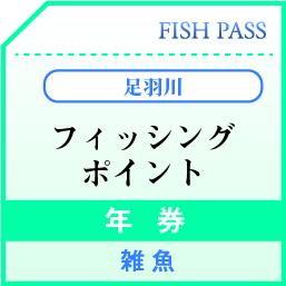 足羽川漁業協同組合 年券 雑魚 5000円